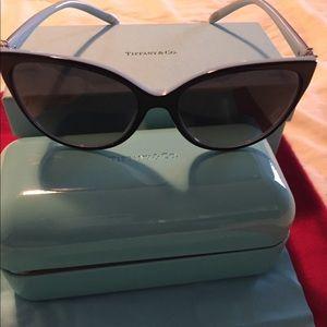 Tiffany & Co. Black Sunglasses